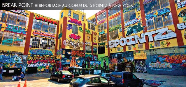 Reportage au coeur du 5 Pointz à New York, haut-lieu du street art