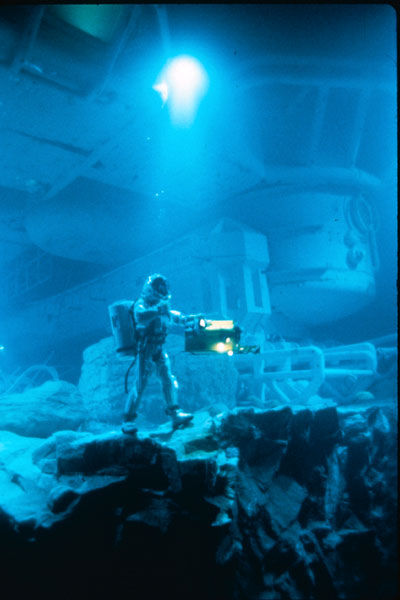 Abyss James Cameron making-of