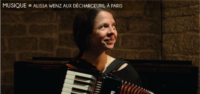 alissa wenz, les dechargeurs, chanteuse, auteure, compositrice, barbara