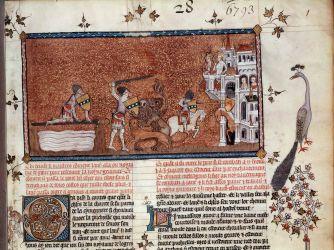 exposition bnf la légende du roi arthur lancelot, guenièvre, excalibur, merlin, chrétien de troyes