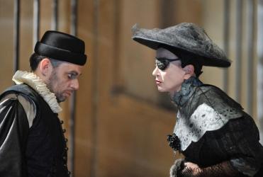 L`Avare de Molière, à la Comédie française jusqu`au 7 février 2010. Catherine Hiegel Denis Podalydès.