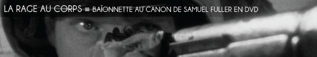 DVD : Baonnette au canon de Samuel Fuller
