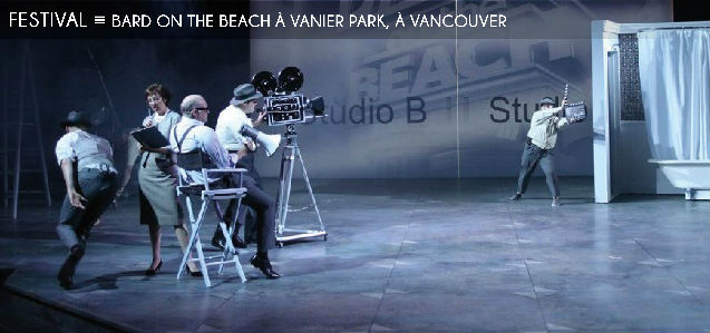 bard on the beach, festival, shakespeare, vancouver, beaucoup de bruit pour rien, un conte dhiver, kevin macdonald, amber lewis