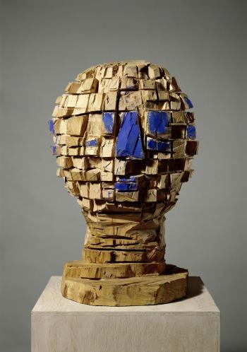 baselitz, exposition, sculpture, mam, musée d`art moderne, musée, art, moderne, paris, rétrospective, bois, portrait, biographie, interview, entretien, kopf, tête, corps