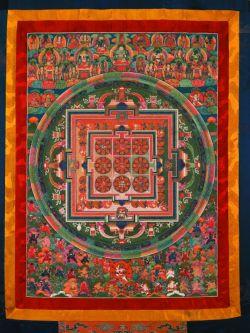 exposition arts sacrés du Bhoutan musée Guimet bouddhisme tantrique véhicule du diamant cham