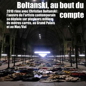 Double exposition pour Christian Boltanski : Monumenta au Grand Palais et `Après` au Mac/Val