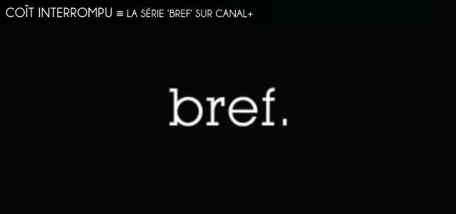 Dossier brièveté : La série `Bref` sur Canal+