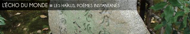 Dossier `Pour faire court` : les hakus, poèmes-instantanés