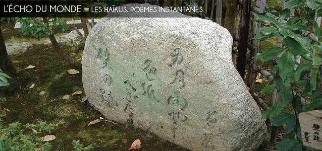 Dossier `Pour faire court` : les haikus, poèmes-instantanés