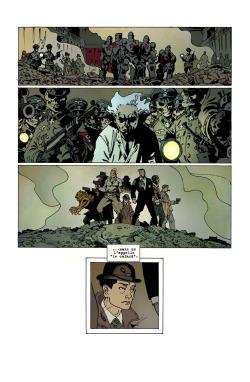 la brigade chimérique, bande dessinée, jeu de rôle, l`encyclopédie, serge lehman, fabrice colin, stéphane gess, hypermonde, science-fiction, super-héros, radiumpunk