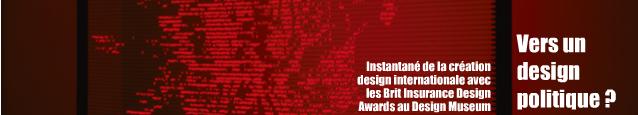 Exposition : Brit Insurance Designs of the Year, au Design Museum de Londres jusqu`au 31 octobre 2010