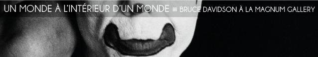 Exposition : Bruce Davidson - Circus à la Magnum Gallery, à Paris, jusqu`au 18 juin 2011.