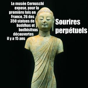 Les buddhas du Shandong, exposition de statues au musée Cernuschi de Paris jusquau 3 janvier 2010