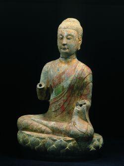 Les Buddhas du Shandong exposition au musée Cernuschi Bouddhisme Chine sculptures Qingzhou