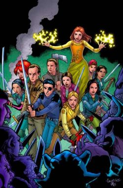 Buffy contre les vampires saison 8 Angel after the fall Joss Whedon comics Xander Willow Spike vampires Sunnydale