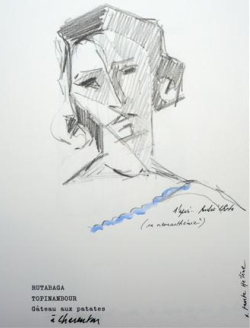 Pierre Buraglio, exposition, J1, galerie, putman, paris, souvenirs, dessins, collages, photos, photographie, guerre, annette becker, marc chagall, théodore géricault, emmanuel bove, cesare pavese