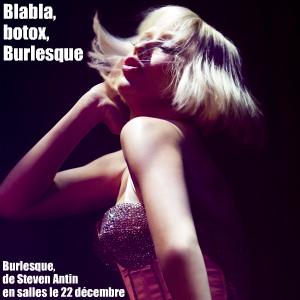 Cinéma : Burlesque, comédie musicale américaine de Steven Antin, avec Christina Aguilera, Cher et Stanley Tucci - Sortie le 22 décembre 2010.