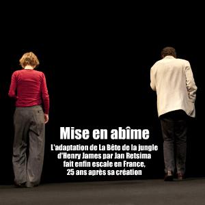 Théâtre : Ça de Jan Ritsema, adaptation de La Bête dans la jungle d`Henry James à la Cité internationale universitaire de Paris