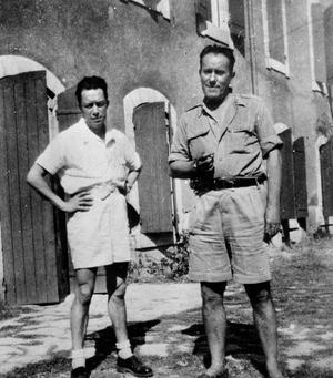 Albert Camus, René Char, correspondance, lettres, amitié, correspondances, épistolaire, l`homme révolté, sud, midi, soleil, provence
