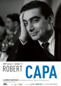 Robert Capa au LUMU, musée d`art contemporain de Budapest en Hongrie