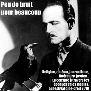 Festival ciné-droit 2010 à la faculté Jean Monnet, à Sceaux : `La censure`