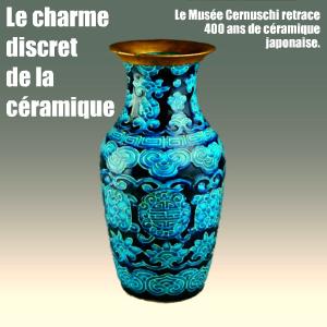 Céramiques d`Edo, quatre siècles de céramiques japonaises au Musée Cernuschi, jusqu`au 4 juillet 2010.
