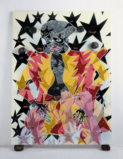 exposition, Tate, Londres, peinture, religion, Chris Ofili,