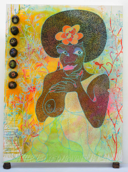 exposition, Tate, Londres, peinture, religion, Chris Ofili, William Blake, David Adjaye, Afro, Afrique, Nigeria, Trinité, Brent Cross, hip hop, Prix Turner