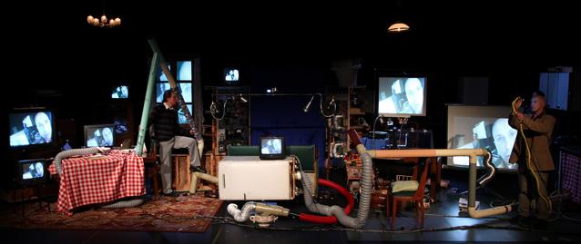 cockpit cuisine, pièce, théâtre, analyse, critique, interview, benoit, faivre, marcel, inventions, père, fils, cockpit, cuisine, laurent, fraunié