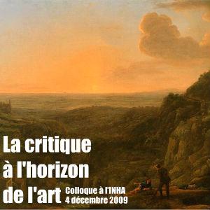 A l`Institut National de l`Histoire de l`Art, Marc Fumalori et Colette Nativel s`intéressent à la critique d`art comme texte littéraire.