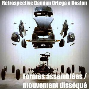 L`artiste mexicain Damian Ortega fait retour sur son oeuvre à l`Institute of Contemporary Art de Boston