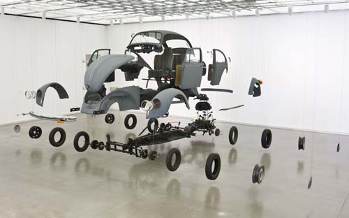 Damian Ortega Do It Yourself ICA Institute of Contemporary Art Boston USA tats-Unis Art contemporain exposition rétrospective Mexico