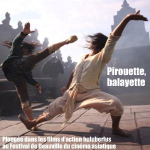 Cinéma : sélection Action Asia au Festival du cinéma asiatique de Deauville, mars 2011.
