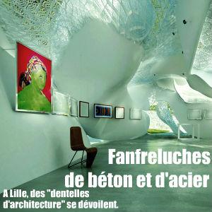 Exposition `Dentelles d`architecture` à la Maison de l`Architecture et de la Ville de Lille, jusqu`au 19 décembre.