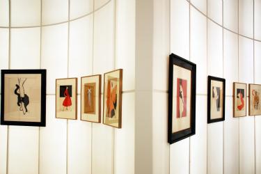 Joëlle Chariau, drawing fashion, fashion, mode, drawing, dessin, dessins, dessin de mode, dessins de mode, exposition, exhibition, design museum, londres, london, design, Georges Lepape, René Gruau