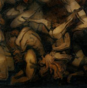 Emanuel Vigeland, Gustav Vigeland, Ernst Haeckel, Bergen, Oslo, mausolée, Vita, fresque murale, peinture, art nouveau, fer forgé, monisme, vigeland, mausolée, fresque, nu, dieu, religion, corps, sexe