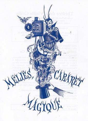 Georges, Méliès, cabaret magique, cinéma, trucs, effets spéciaux, théâtre, spectacle