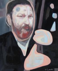 Le visage de Godot Exposition Galerie Godot Budapest En attendant Godot Samuel Beckett
