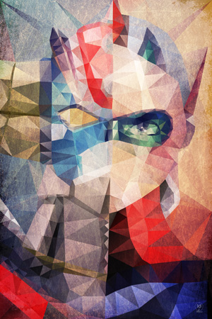 Goldo expo, exposition, Goldorak, art contemporain, anime, galerie Sakura, Dario dAngelo, Maxime Lhermet, David Eger, Alben, Marc Ninghetto, expo, art, peinture, série
