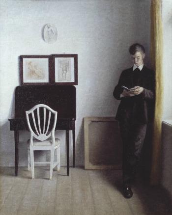 Vilhelm Hammershi, Hammershoi, staten museum for Kunst, musée, exposition, peinture, Hammershi and Europe, portrait, Danemark, peintre, artiste, Copenhague