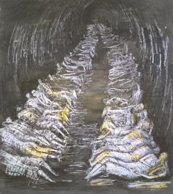 culpture, dessin, Henry Moore, primitif, psychanalyse, surréaliste, matière, guerre, exposition, Tate, Londres, inclining figure, angoisse, sexualité, bronze, pierre, war art