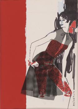 High sixties fashion, mode, photographie, berlin, exposition, kunstbibliothek, helmut newton, f. c. gundlach, jean-loup sieff, haute-couture, dessin, dessins, photographies, photos, photo