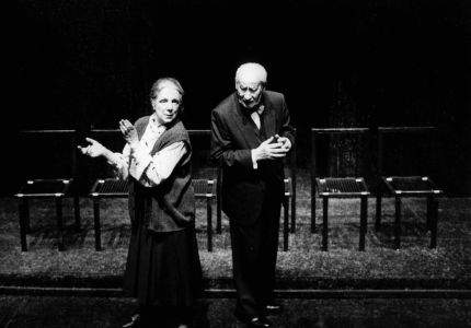 Exposition Bibliothèque nationale de France Eugène Ionesco Les Chaises Le roi se meurt Macbett la Cantatrice chauve Rhinocéros Jankélévitch théâtre de l`absurde déconstruction du langage