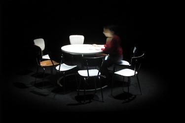pommerat, joël, joël pommerat, joel pommerat, theatre, théâtre, ma chambre froide, chambre froide, théâtre de l`odéon, portrait, rencontre, biographie, parcours, interview, citation, citations, oeuvre
