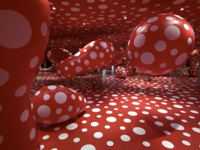 Yayoi Kusama, centre Pompidou, Beaubourg, Japon, artiste japonaise, point, pois, exposition, Paris, interview, biographie, portrait, rencontre, infinity, dot, dots, obliteration, kusama, rétrospective