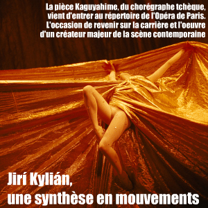 Danse : La pièce Kaguyahime du chorégraphe tchèque Jiri Kylian rentre dans le répertoire de l`Opéra de Paris