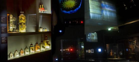 lanterne magique, exposition, cinémathèque française, cinéma, film peint, mélièes, christiaan huygens, opticiens, colporteurs, massilo quendolo, museo nazional del cinema, frères Lumière, ciné