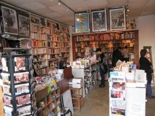 librairie, le monte en l`air, ménilmontant, image, fonds, dédicaces, bande dessinée, littérature, sciences humaines, engagement