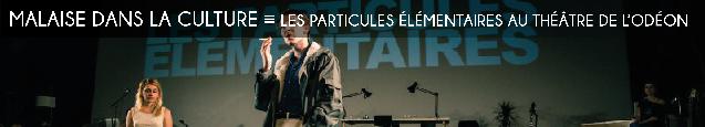 les particules elementaires, michel houellebecq, julien gosselin, theatre de lodeon, mai 68