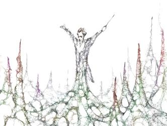 gustav mahler, mahler, exposition, rétrospective, biographie, parcours, oeuvre, musée dorsay, orsay, paris, critique, symphonie, partition, manuscrit, sculpture, statue, vie, oeuvre, debussy, alma